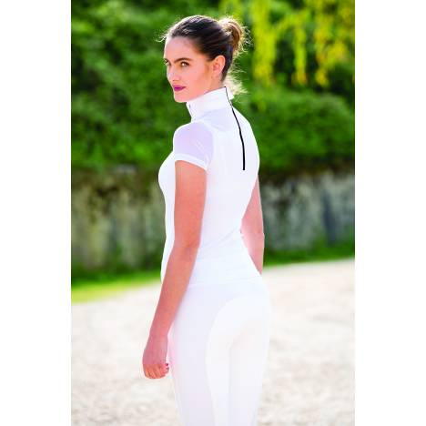 Horseware Emma Pique Short Sleeve Competition Top - Ladies
