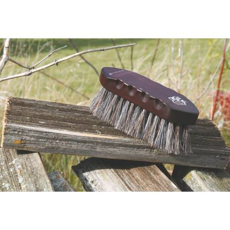 Tail Tamer Wood Series Small Horsehair Brush