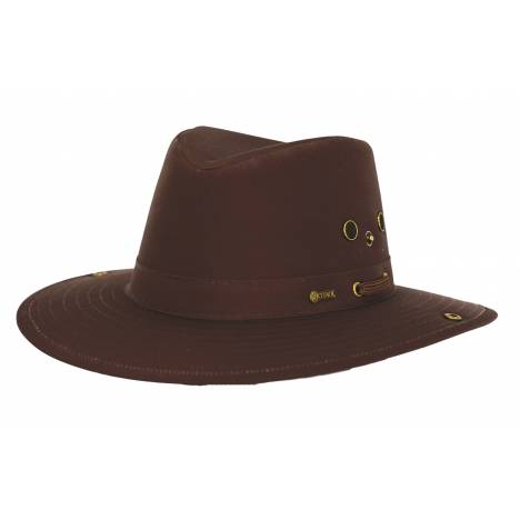 Outback Trading River Guide II with Chin Strap Hat- Men's