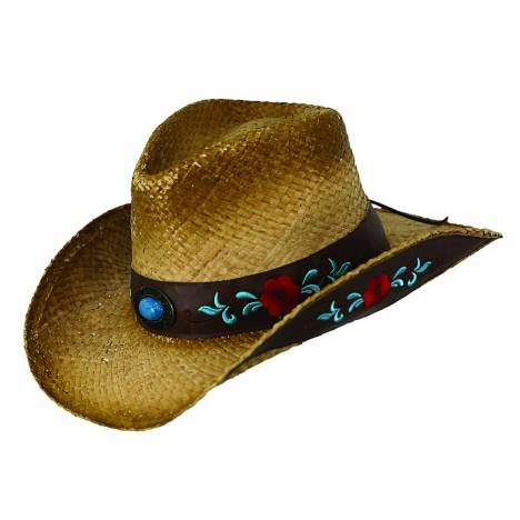 Outback Trading Ladies' Harmony Bay Straw Hat
