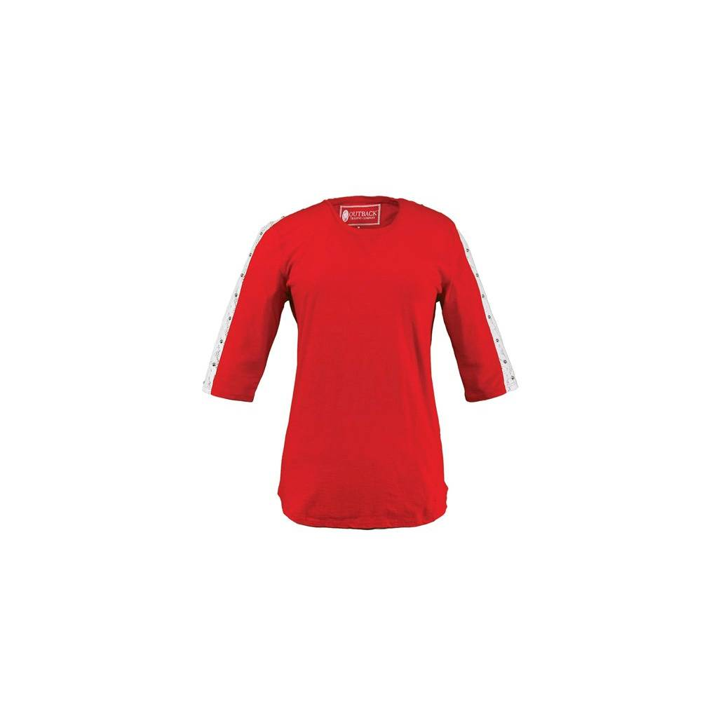 Outback Trading Charlotte Tee-Ladies