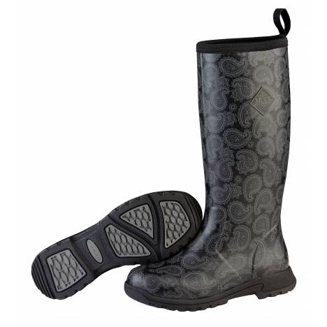 Muck Boots Breezy Tall - Ladies - Black Bandana