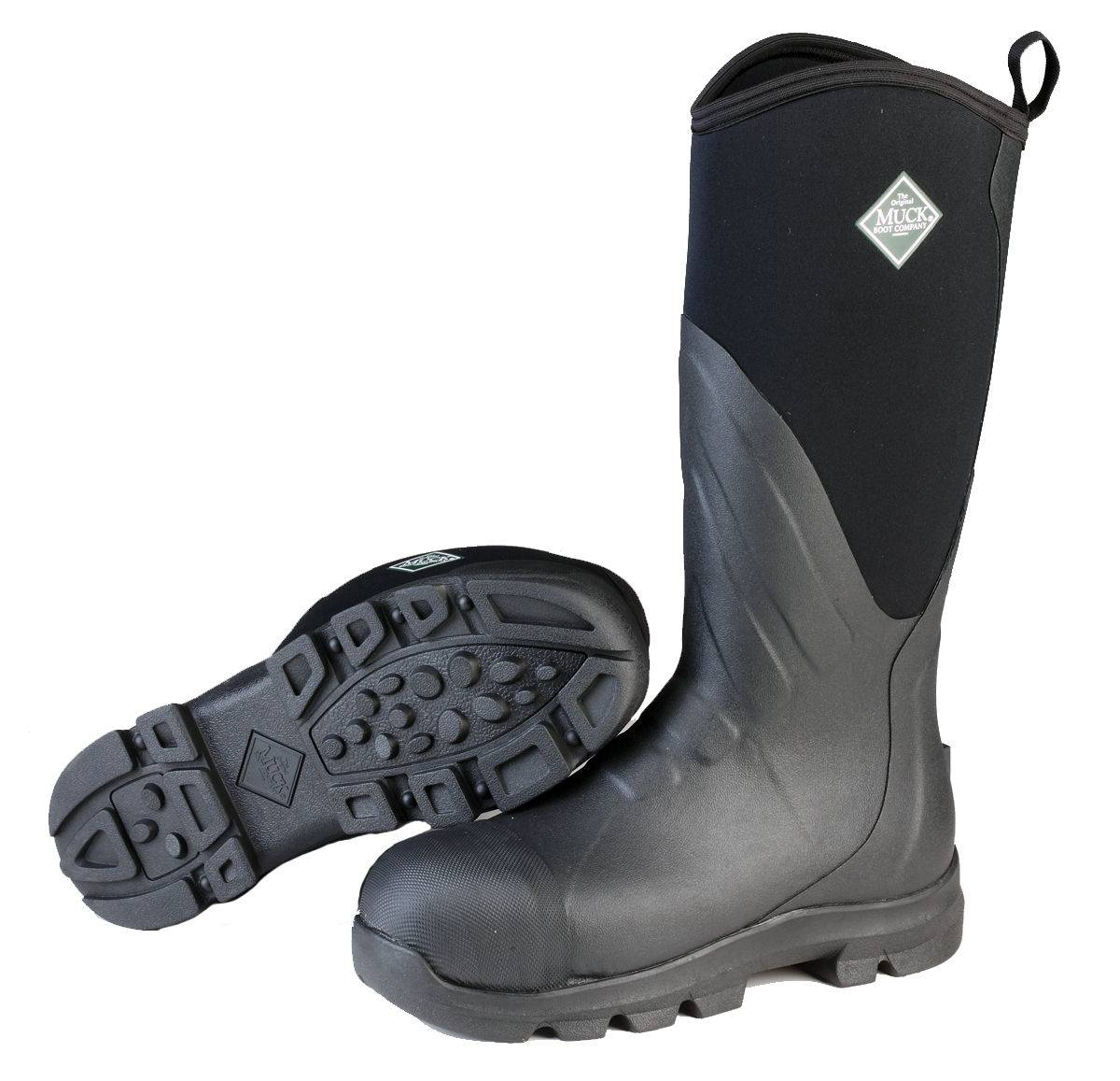 Muck Boots Muck Grit Steel Toe - Mens - Black