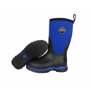 Muck Boots Rugged II - Kids - Black/Blue