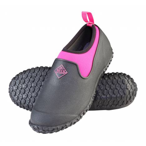 Muck Boots Muckster II Low - Ladies - Black/Pink