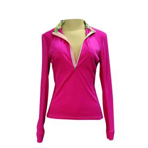 FITS  Sea Breeze Long Sleeve Tech Shirt - Ladies - Pink