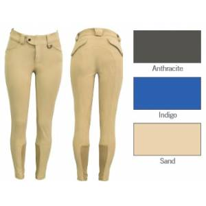 FITS  Kallie Printed Knee Patch Breeches - Ladies - Anthracite