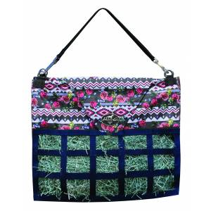 Professionals Choice Med Feed Hay Bag - Tribal