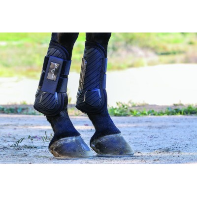 Professionals Choice Pro Performance Pro Mesh Show Jump Boot - Front - Hook & Loop