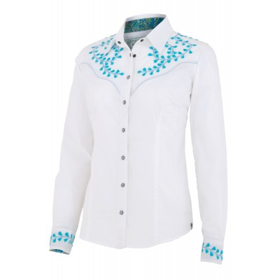 Noble Outfitters Nashville Embroidered Shirt - Ladies
