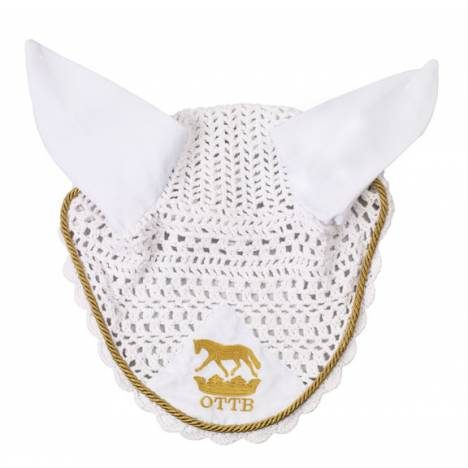 OTTB Crown Crochet Ear Net