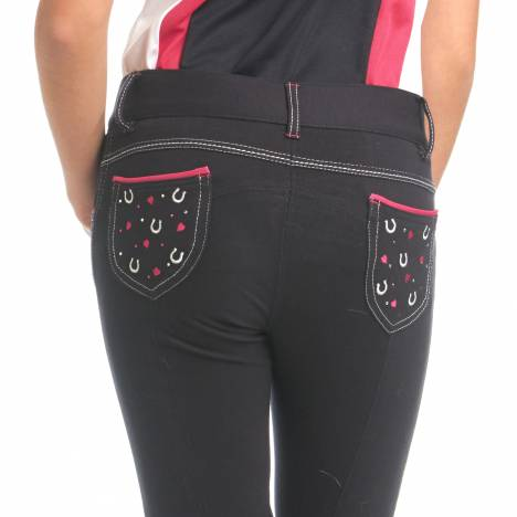 Ovation Hearts & Horseshoe Breeches-Kid's