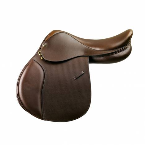 Camelot Close Contact Saddle - Kids - Dark Brown