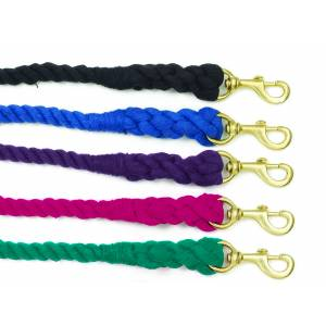 Equi-Essentials 3-Ply Cotton Lead with Solid Brass Snap