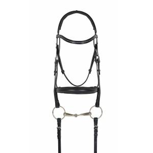 Ovation Europa Crystal Crank Flash Bridle