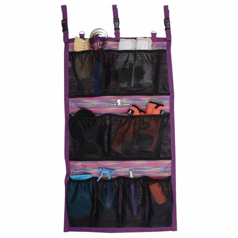 Classic Equine Hanging Groom Case - Plum Daze