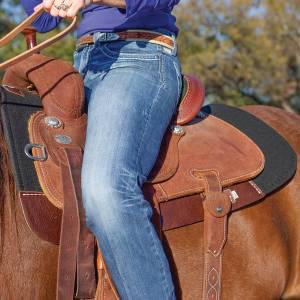 Classic Equine Zone Series Felt Bottom Western Pad
