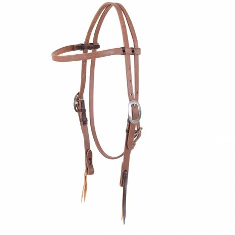 Martin Harness Leather Browband- Natural