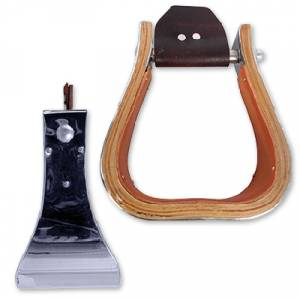 Martin Monel Metal Bound Wood Stirrups- 4