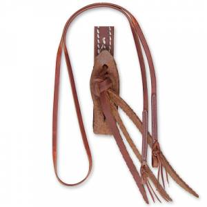 Martin Harness Leather Roping Rein- 5/8