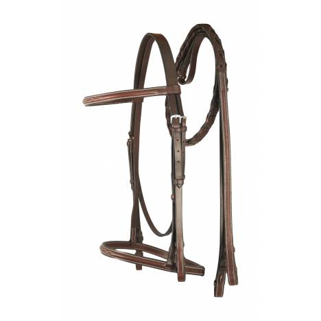 Treadstone Richtan Plus Fancy Stitched Raised Bridle