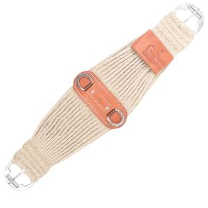 Classic Equine 31 Strand Mohair Colt Cinch- Natural