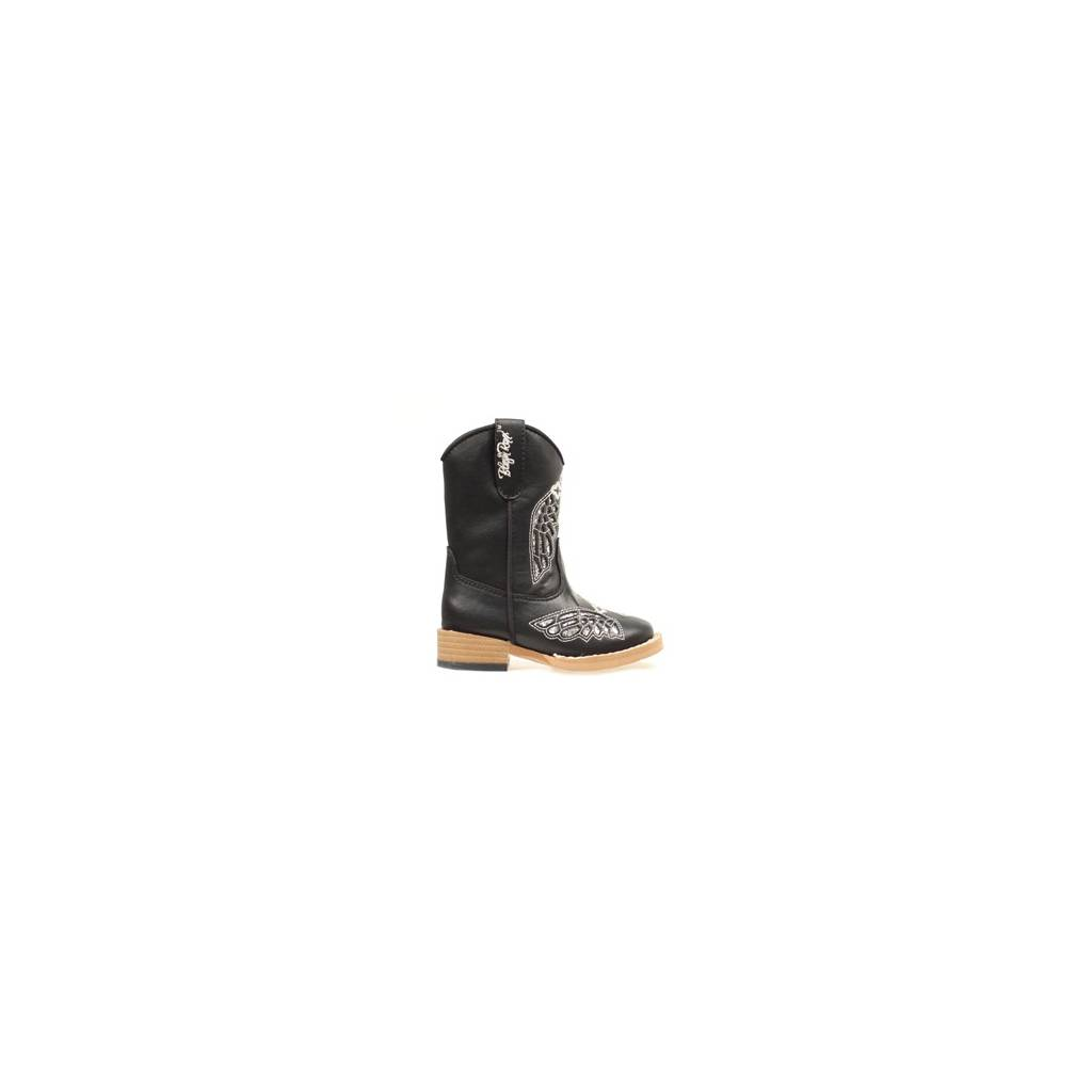 03653c4e1eb Blazin Roxx Gracie Wing & Cross Western Boot - Toddler Girls, Black