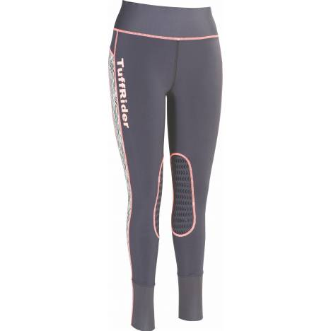 TuffRider Zebra Marathon Pull On Tights - Kids