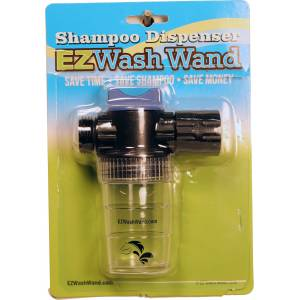 Revolutionary EZ Wash Wand Shampoo Dispenser