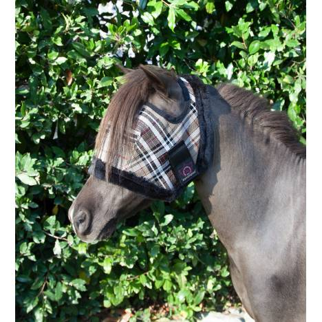 Kensington Pony Fly Mask with Fleece Trim
