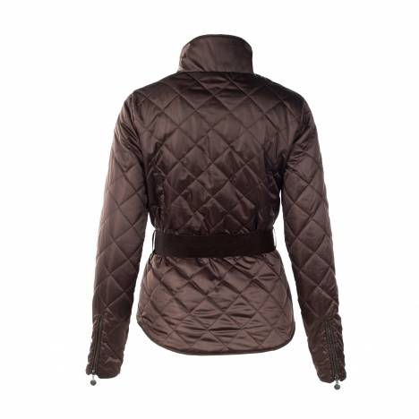 HorZe Crescendo Amelia Quilted Jacket - Ladies - Dark Brown