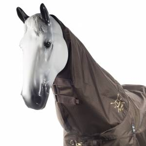 HorZe Crescendo Holbrook Rain Hood - Dark Brown