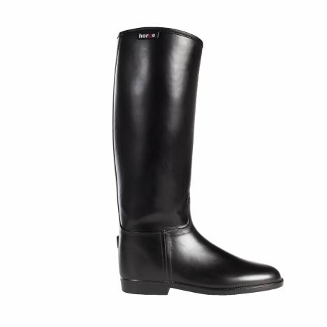 HorZe Rubber Riding Boot - Ladies - Black