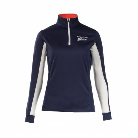 HorZe Supreme Trista Long Sleeve Functional Shirt - Ladies - Blue Aster/Peacoat Dark Blue