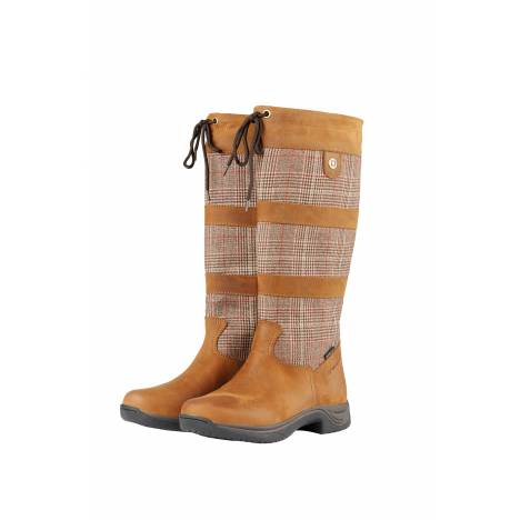 Dublin Ladies River Plaid Boots ll