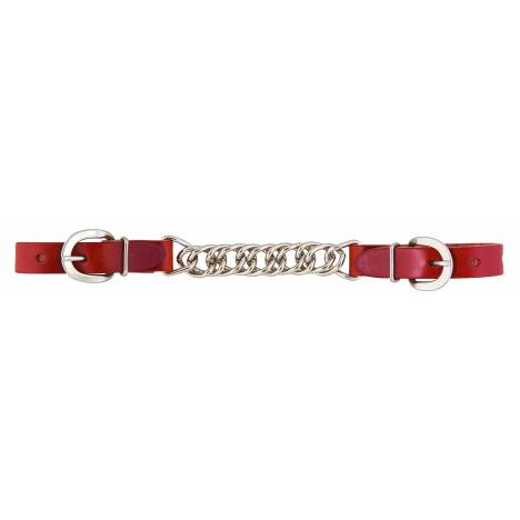 """Weaver Skirting Leather 4-1/2"""" Single Link Chain Curb Strap"""