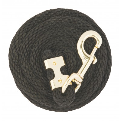 Weaver Value Lead Rope with Brass Plated Snap