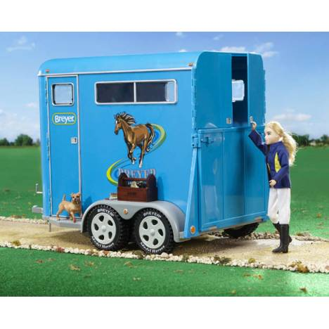 Breyer Traditional Series Tack Traditional Two-Horse Trailer