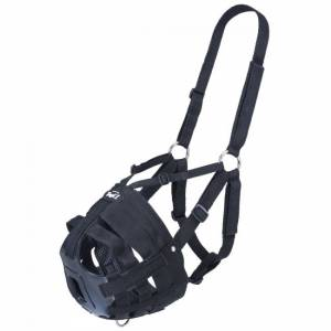 Tough 1 Easy Breathe Poly/Nylon V Grazing Muzzle