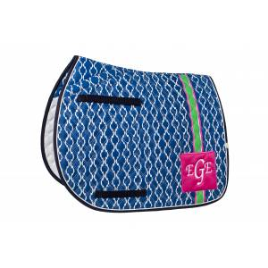 Lettia Preppy All Purpose Saddle Pad - Stripe
