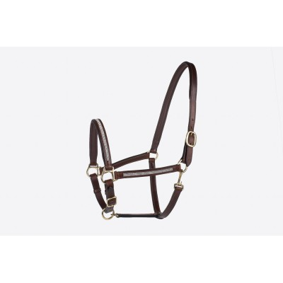 Millstone Padded Leather Rhinestone Halter