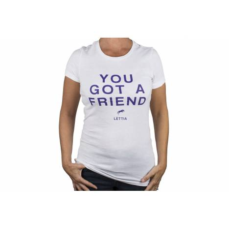 Lettia You Got A Friend T-Shirt- Ladies