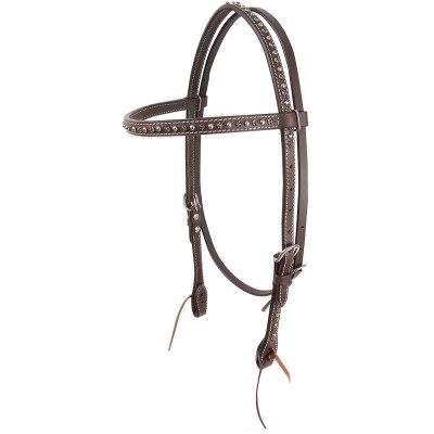 Cashel Antique Silver Dots Browband Headstall