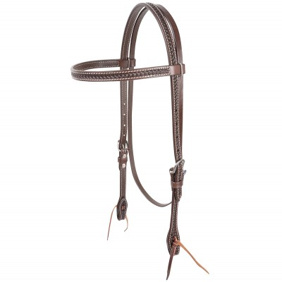Cashel Weave Tooled Browband Headstall