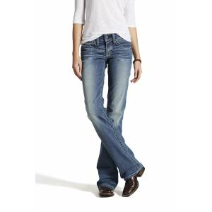 Ariat R.E.A.L Whipstitch Jeans - Ladies - Rainstorm