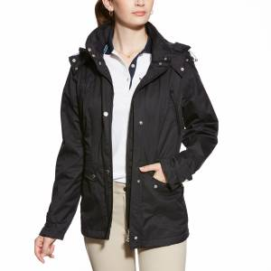 Ariat Burney Waterproof Parka - Ladies - Black