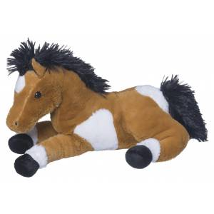 Plush Horse Lying with Sound - 13