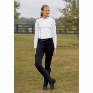 Devon Aire Power Fleece Full Seat Water Repellent Breech - Ladies