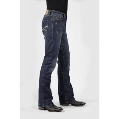 Stetson  Rocks Fit Collection Dark Wash Jean- Men's