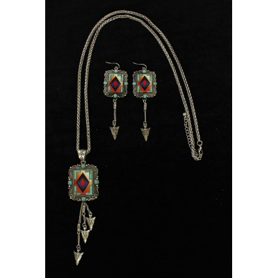 Blazin Roxx Aztec Arrow  Jewelry Set